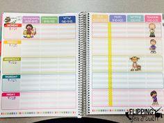 Organize Your Erin Condren Teacher Planner!
