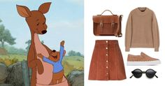 5 looks inspired by our favorite Disney and Disney•Pixar Moms   Mother's Day fashion   Kanga, Winnie the Pooh   [ https://style.disney.com/fashion/2016/05/07/looks-inspired-by-the-best-disney-moms/ ]