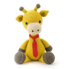 Stanley The Giraffe Amigurumi Pattern