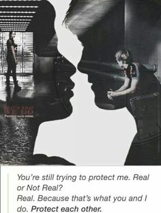 """""""That's what we do - protect each other."""" I really enjoy the relationship between Peeta and Katniss. Even though Katniss is always unsure of her feelings, that need to keep one another from harm is still dominant - in both of them. Hunger Games Fandom, Hunger Games Mockingjay, Katniss And Peeta, Hunger Games Catching Fire, Hunger Games Trilogy, Katniss Everdeen, Suzanne Collins, William Faulkner, Josh Hutcherson"""