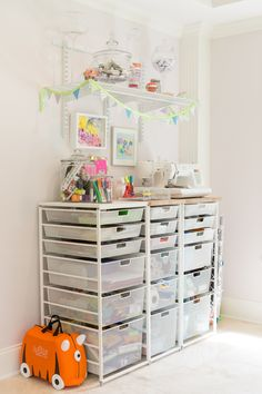 Playroom/Craft Storage - Project Nursery
