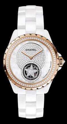 Chanel J12 Jewelry Skeleton Flying Tourbillon
