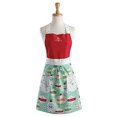Put on DII Christmas Skirt Apron and Prepare for a Holiday Feast DII has created Festive Christmas Skirt Aprons for home chefs for the special holiday season. The festive printed design make these aprons must-have kitchen essentials and great gifts for Christmas, Holidays, Birthdays, hen... more details available at https://perfect-gifts.bestselleroutlets.com/gifts-for-holidays/home-kitchen/product-review-for-dii-cotton-chistmas-women-apron-dress-with-pocket-and-extra-long-ti