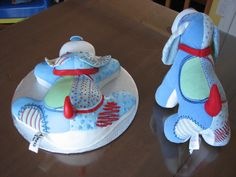 puppy cake fondant dog chiot gâteau