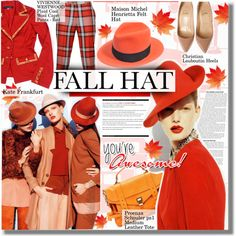 """""""Fashionable Fall Hat"""" by barbarela11 on Polyvore"""