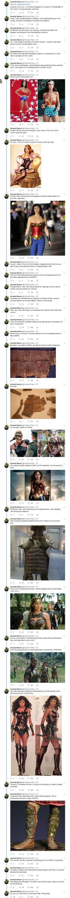 The costumes in Wonder Woman—thoughts from a costume designer