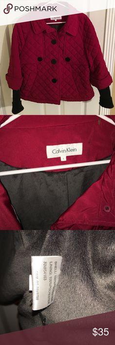 Final reduction ⚡️⚡️Calvin Klein jacket ❤️ Super cute Calvin Klein jacket never worn Calvin Klein Jackets & Coats