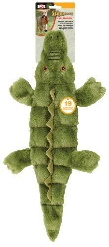 Ethical Pets Skinneeez Tons of Squeakers Alligator Dog Toy 21-Inch