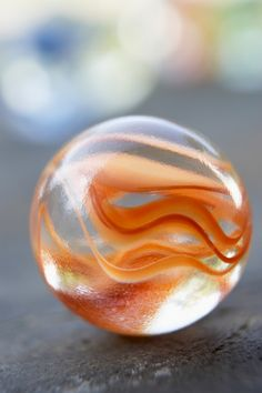 Marble with short depth of field