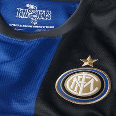 Inter home shirt 2012/2013 logo