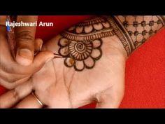 Latest New Mehndi Designs For Fullhands 2019 * Easy Bridal Mehndi Designs*Simple best Henna For holi - YouTube Mehndi Ka Design, Bridal Mehndi Designs, Bridal Henna, Henna Designs, Mehndi Tattoo, Mehndi Art, Mehendi, Very Simple Mehndi Designs, Mehndi Patterns
