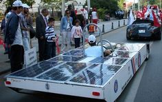 Portcar – Short of funds, students use old junk to built solar-powered car