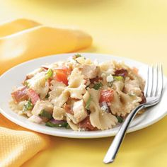 Balsamic Chicken Pasta Salad Recipe from Taste of Home -- shared by Terry McCarty, Oro Grande, California