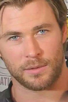Chris Hemsworth - what would you give to have him look at you this way?