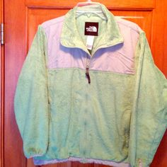 Fleece North Face- Youth XL Apple green fleece. Gently used. Great condition, sadly outgrown. No stains or tears. North Face Jackets & Coats