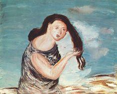 Aleksandr DREVIN | Cēsis, Latvia 1889 - Moscow, Russia 1938. A woman with long hair