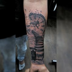 Arm Tattoos For Guys Forearm, Half Sleeve Tattoos For Guys, Forarm Tattoos, Body Art Tattoos, Cool Tattoos, Braille Tattoo, Daddy Tattoos, Remembrance Tattoos, Tattoo Bein