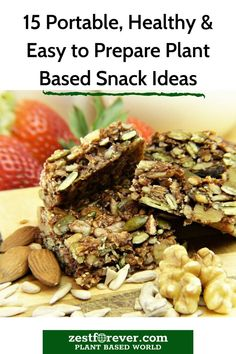 Sometimes you just want to snack right? Well, why not knock up your own HEALTHY plant based snacks from this list of easy and portable recipes. Plant Based Snacks, Plant Based Eating, Plant Based Diet, Plant Based Recipes, Healthy Party Snacks, Easy Snacks, Easy Meals, Natural Diet Pills, Meal Prep For Beginners
