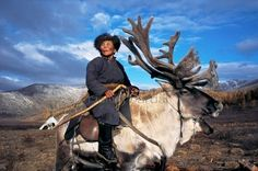 They are known as reindeer herders | A Lost Mongolian Tribe Was Rediscovered By A Photographer