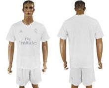 Real Madrid Blank Marine Environmental Protection Home Soccer Club Jersey
