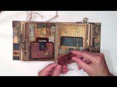 ▶ Bo Bunny World Market Vintage Mini Album -