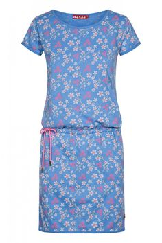 63f050ad2729ad Womens Seasalt Blue Castor Top Penwith Flower Mid Teal - Blue in 2019 |  Products | Tunic tops, Tops, Shirts