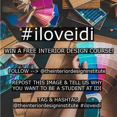 Instagram Competition Want To Win A FREE Interior Design Course Check Out Our