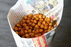 geröstete #Kichererbse - der perfekte #snack für zwischendurch für einrn gemütlichen fernsehabend.
