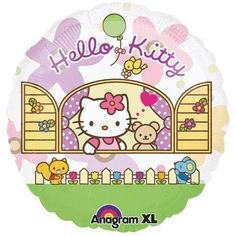 Hello Kitty Birthday Party Balloon see through jumbo 26 Inch ** Want to know more, click on the image.Note:It is affiliate link to Amazon.