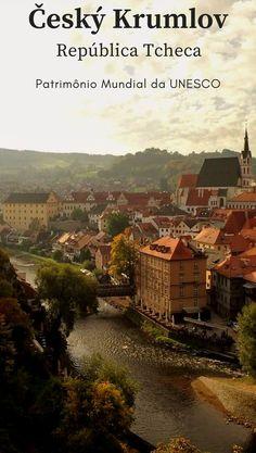 Centro Histórico de Český Krumlov, na República Tcheca Patrimônio Mundial da UNESCO O que fazer em Český Krumlov. Uma cidade linda que fica na República Tcheca. Český Krumlov parece ter saído de um filme com aqueles cenários lindos.