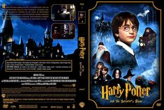 cookbook front and back cover | Harry Potter and the Sorcerer's Stone - Movie DVD Custom Covers