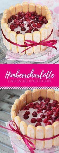 Du brauchst eine Angeber-Torte, die gut aussieht, aber nicht besonders aufwendig ist? Dann ist dieser Himbeer Charlotte genau das richtige mit diesem einfachen Rezept.