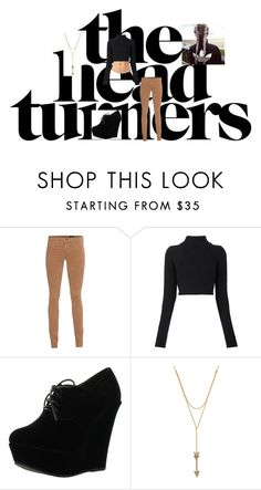 """""""Make there heads turn"""" by katsavy on Polyvore featuring AG Adriano Goldschmied, Balmain, Forever Link and Rebecca Minkoff"""