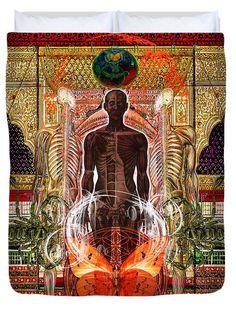 http://mosletstudio.tumblr.com/Solar Spirit Awakening Duvet Cover by Joseph Mosley