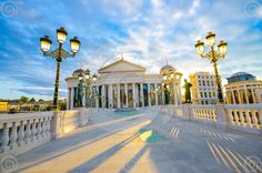 Macedonia Center Skopje City