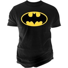 Men's Dc Comics Basic Batman Logo Graphic-Print T-Shirt from Changes ($24) ❤ liked on Polyvore featuring men's fashion, men's clothing, men's shirts, men's t-shirts, black, mens cotton shirts, mens graphic t shirts, mens t shirts, mens leopard print t shirt and mens patterned shirts