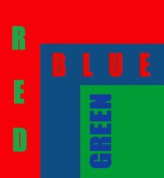 Rgb Red, Red Blue Green, Finding A House, Color Combos, Red Color, Have Fun, Colors, Creative, Green