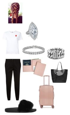 """""""Traveling"""" by strotsenburg on Polyvore featuring mode, Givenchy, Etro, CalPak, Royce Leather, Play Comme des Garçons, Buddha to Buddha, Apples & Figs en Alexander McQueen"""