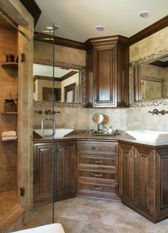 Love the counter space below the upper cabinet.