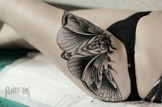 Moth tattoo https://instagram.com/familyinktattoo/