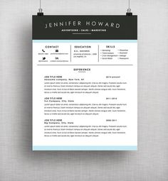 Curriculum Vitae Template  Professional Resume Template Word