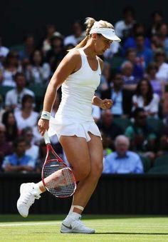 Sabine Lisicki @ Quarter-final Wimbledon Lawn Tennis Championships - July 2-2014 #WTA #Lisicki #Wimbledon