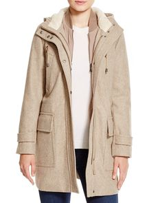 Cole Haan Four-in-One Hooded Parka