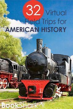 - 32 Virtual Field Trips for American History  | BookShark
