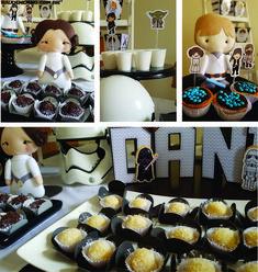 festa Star Wars do Daniel