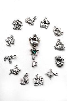 Chibi Zodiac Key Necklace by KeypersCove on Etsy, $9.99 http://www.etsy.com/shop/KeypersCove