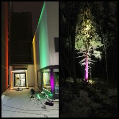 Architecture Lighting -course, autumn 2016. Course took three days and this workshop with different kind of luminaires and lighting sources was the best part of three days. #lighting #architecture #architecturelighting #architecturelightingdesign