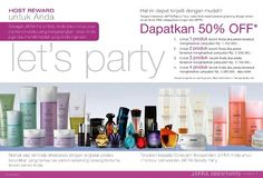Lets Party! with JAFRA Indonesia   Mari bergabung dan nikmati hidup yang lebih sehat, tampil cantik dan mempesona bersama JAFRA :)  Dika Prameswari Anatiami  Beauty Consultant   For JAFRA Indonesia   https://www.facebook.com/DikaJafraIndonesia  081321187799