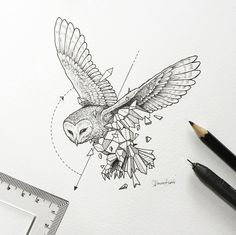 Geometric Beasts l Owl