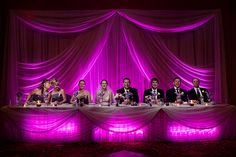 E&W Head Table | Head table at Erin & Will's wedding. 4 shot… | Flickr